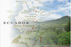 Ecuador Travel Map